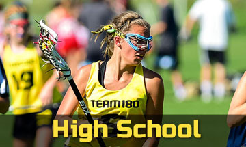 High school girls' lacrosse